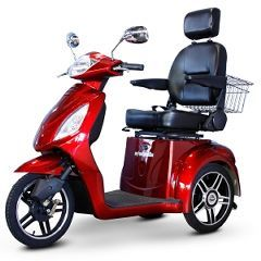 EW-36 Elite  3 Wheel Mobility Scooter with Electromagnetic Brakes