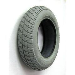 Gray Pneumatic Durotrap Tire - 14 x 3