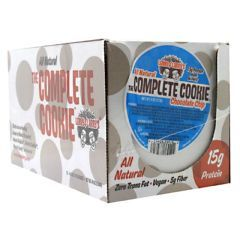 Lenny & Larry's All-Natural Complete Cookie - Chocolate Chip - Pack of 12