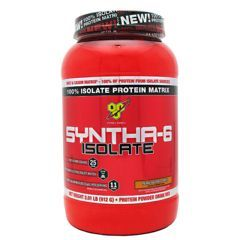 BSN Isolate Syntha-6 - Peanut Butter Cookie 4.01 lbs. - Each