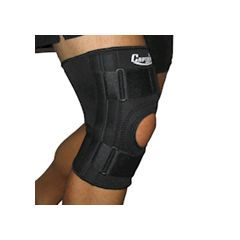 Adjustable Knee Brace with Lateral Supports