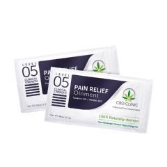 CBD CLINIC™ Clinical Strength Topical Analgesic Sample Packets - Level 5 Ointment 1.7g - Pack of 20