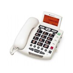 Amplified Bigbutton Spkrphone 50Db White - Each