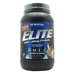 Dymatize Elite 100% Whey Protein - Cookies & Cream