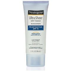 Neutrogena Ultra Sheer Dry-Touch Sunscreen SPF 70 - 3 oz.