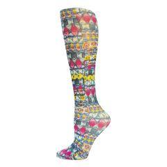 Emerald Dazzle Fashion Line Compression Socks