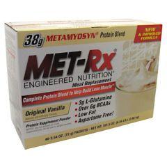 MET-Rx Meal Replacement Protein Powder - Original Vanilla - Each
