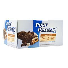 PURE PROTEIN Pure Protein Bar - S'mores - Pack of 6