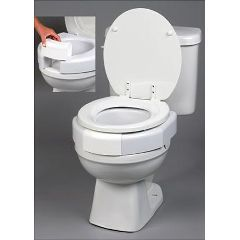 Secure-Bolt Elevated Toilet Seat - Each