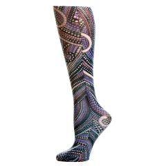 Denim Dotty  Fashion Line Compression Socks
