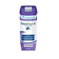 DIABETISOURCE® AC 1.2 Cal Tube Feeding Formula for People with Diabetes - Unflavored - Case of 24