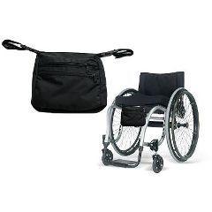 Wheelchair Under Seat Bag - Wheelchair Seat Pouch - Each