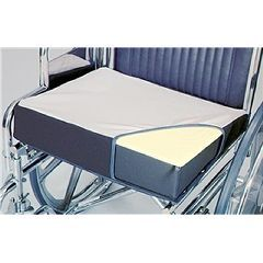 Alimed Wheelchair Wedges Foam, Soft Foundation, Polyester Cover - Each