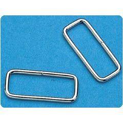 Rectangular Loop Metal D-Rings 2