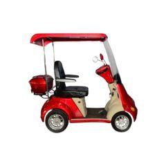 EW-54 Buggie 4 Wheel Mobility Scooter - Golf Cart Brake