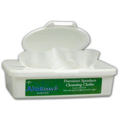 AloeTouch Scented Wipes - 8 x 12