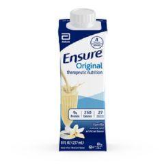 Ensure® Original Therapeutic Nutrition Shake - Chocolate - 8 oz Carton