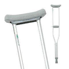 ProBasics Aluminum Crutches, Adult - Case of 8