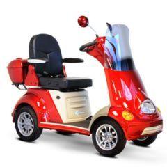 EW-52 Premium 4 Wheel Mobility Scooter - Orange