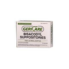 Geri-Care Bisacodyl Laxative Suppositories - 10 mg