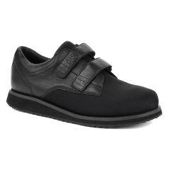 Oasis Men's  Men's X-Tender Black Diabetic Shoe
