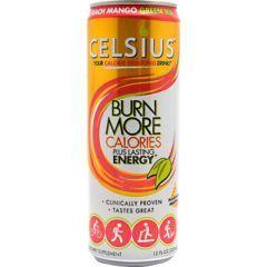 Celsius Celsius - Peach Mango Green Tea - Pack of 12