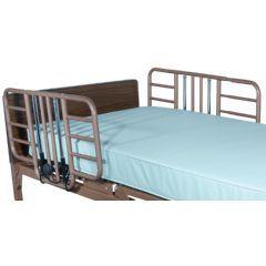 Half Length Bed Rail - Adjustable Width  - 1 pair