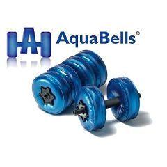 AquaBells Dumbbells - AquaBells Travel Weights - 1 pair