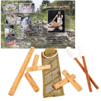 Warm Bamboo Stick Set W/ Table Version Dvd