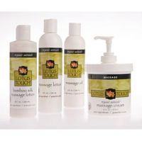 New Lotus Touch Organic Naturals Massage Kit