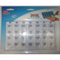 One-Day-At-A-Time Pill Organizer - Assorted Colors - Medium
