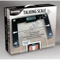Ideaworks Extra Wide LCD Talking Scale - Each