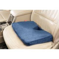 Memory Foam Coccyx Wedge With Velour Cover