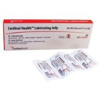 Cardinal Health™ Lubricating Jelly, 3g Foil Packet - Box of 30