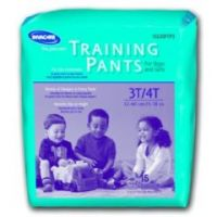 Invacare Children's Training Pants - 2T/3T Weight 18-34 lbs - Case of 136