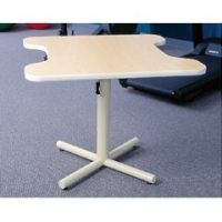 Dual Comfort Recess Height-Adjustable Table - Each