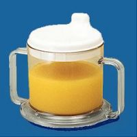 Transparent Mug with Drinking Spout - Each