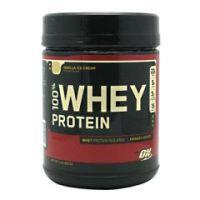 Optimum Nutrition 100% Whey Protein - Vanilla Ice Cream - Each