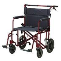 Bariatric Lightweight Aluminum Transport Chair - Each