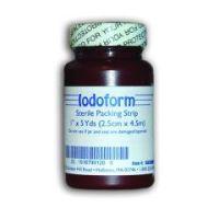 """Iodoform Gauze Packing Strip - 1/4"""" x 5 yards"""