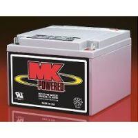 MK 12 Volt - 26 AMP Sealed Light Duty AGM Battery - Each