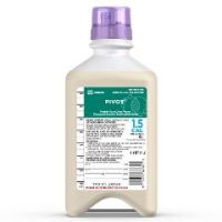 Pivot® 1.5 Cal For Tube Feeding, Unflavored 33.8 oz  - Unflavored, 1-L Prefilled Container - Case of 8