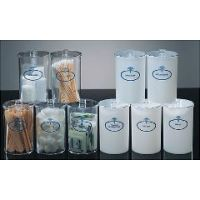 Plastic Stor-A-Lot Clear Sundry Jars - Clear - Set of 5