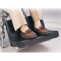"""Two-Piece Footrest Extender - w/ 1"""" Foot Pad"""