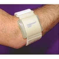 Aircast Pneumatic Armband for Tennis Elbow and Golfers Elbow - Beige