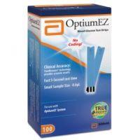 Optium EZ Glucose Test Strips