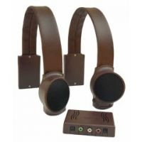 Audio Fox Brown TV Listening Speaker System - Audio Fox Brown TV Listening Speaker System