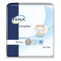 TENA Complete Adult Moderate-Absorbent Incontinence Brief, X-Large, White