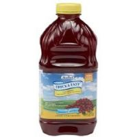 Thick & Easy Cranberry Cocktail Juice Honey Consistency - 46oz - Case of 6