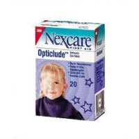 """NEXCARE Opticlude Oval Eye Patches - 2-1/2 x 1-1/4"""", Junior"""
